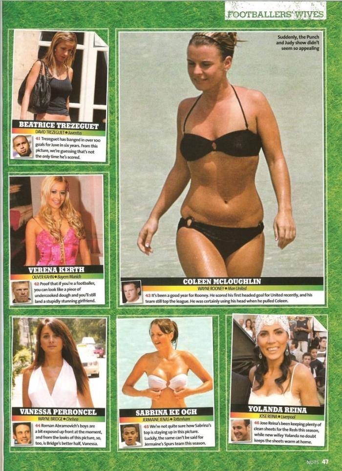 Самые красивые жены футболистов (ТОП-100) Аккуратно, НЮ (22 скана)