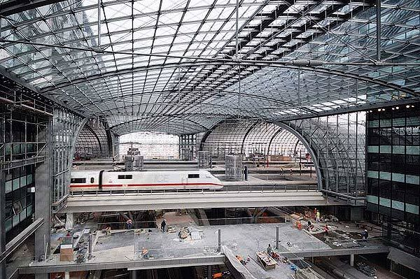 вокзал в Берлине