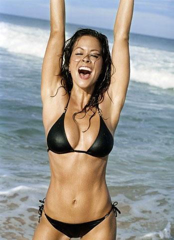 Brooke Burke в бикини (7 фотографий)
