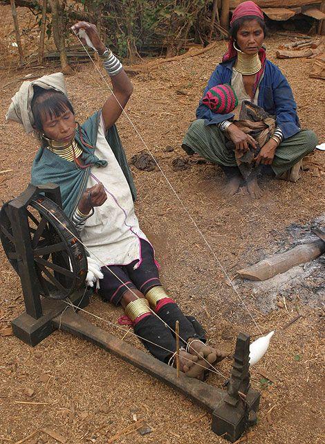 Шеи Таиланда (11 фото)