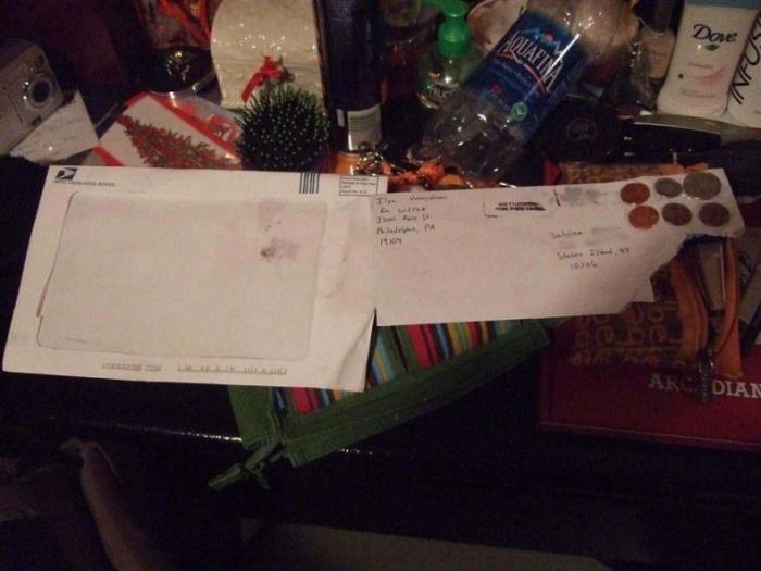 Прикол над почтой (5 фото)