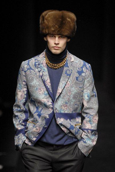Показ Дениса Симачева на неделе моды в Милане