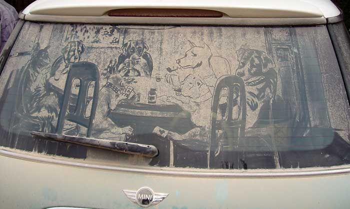 Рисунки на стеклах (49 фотографий)