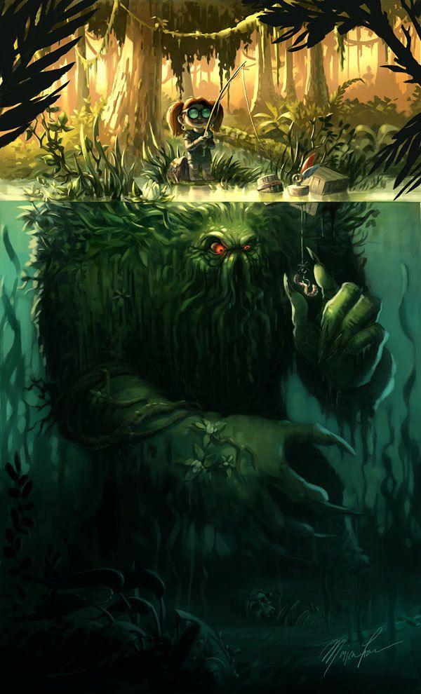 страшный рассказ рыбака