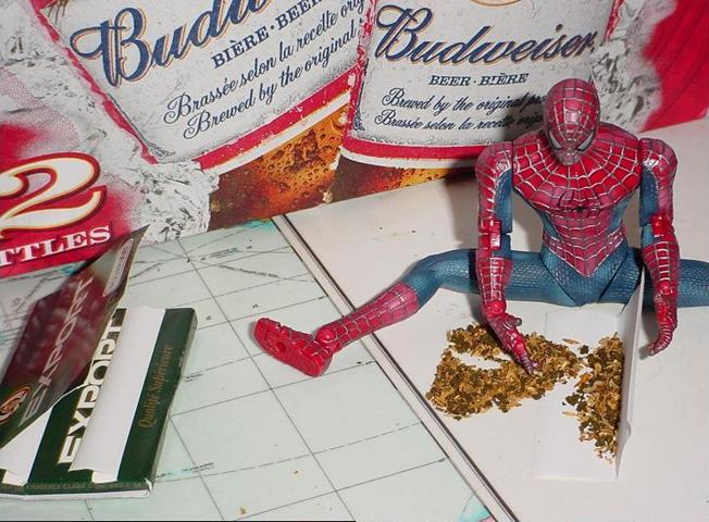 Как накурился Супермэн (9 фотографий)