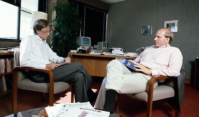 Офис Стива Баллмера. Состояние - 13,6 млрд долларов (9 фото)