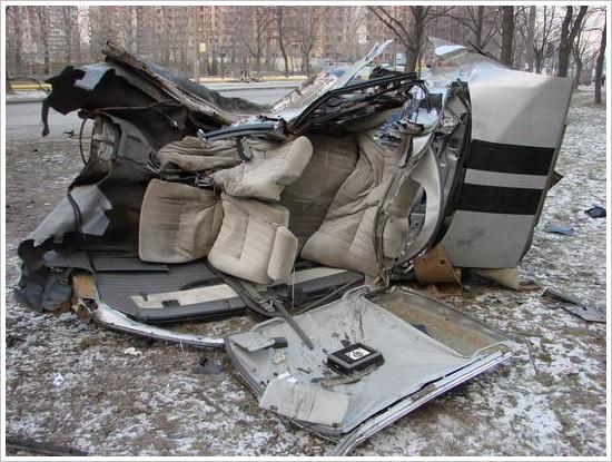 Жуткая авария в Питере... (14 фото)