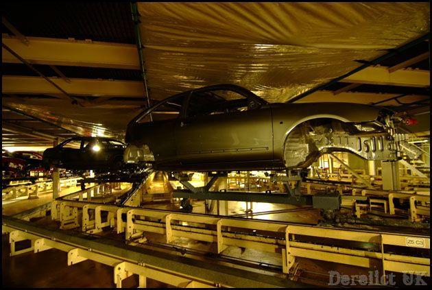 Фотографии закрытого завода MG в Лонгбридже (47 фотографий)