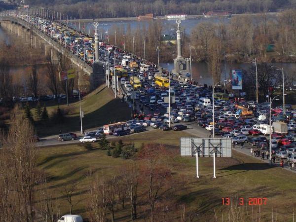 Пробка в Киева