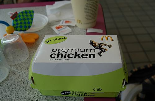 В Макдональдсе штата Коннектитут люди купили вот такой Premium Chicken, а там... (6 фото)