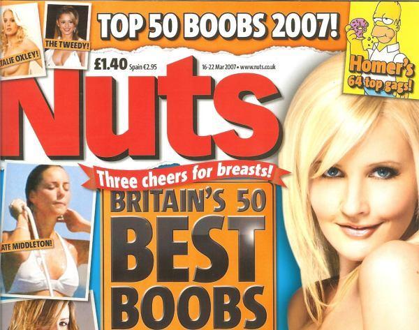 Лучшие груди Англии. Не согласен я с их выбором )) (13 больших сканов) НЮ