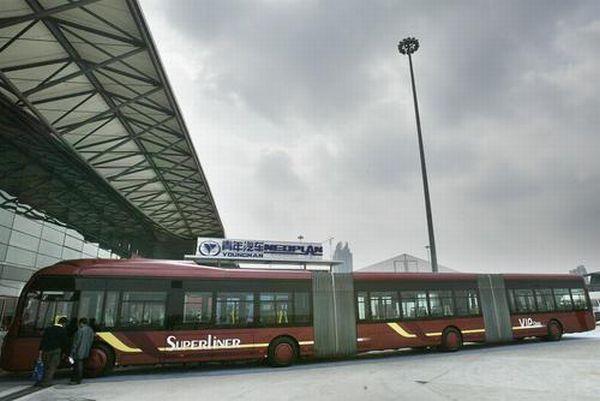 Такие автобусы будут ездить в Шанхае (10 фото)