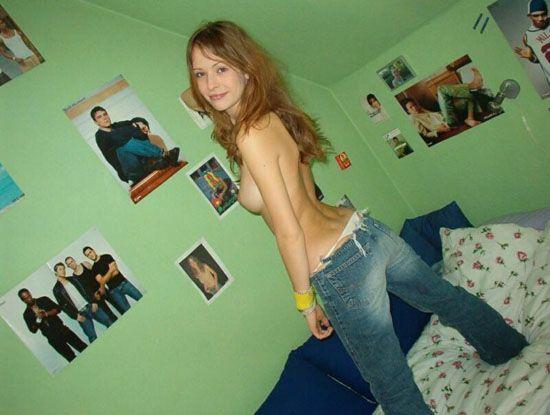 Любительские фотографии девушек НЮ (90 фото)