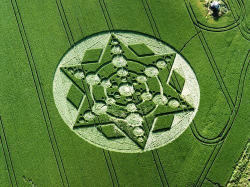 Круги на полях (15 Фото)