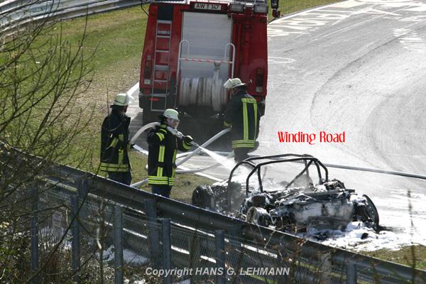 Потестили. Убили Audi RS8 (7 фотографий)