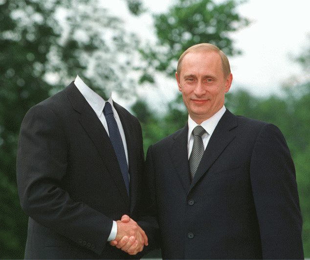 Классная фотожаба. Путин и преемник? ) (39 фото)