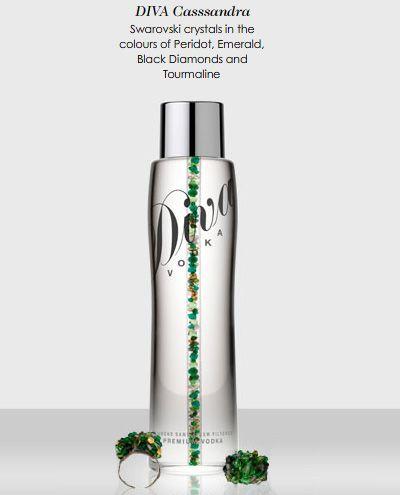 """Самый дорогой напиток в мире - водка """"Diva"""" (7 фото)"""