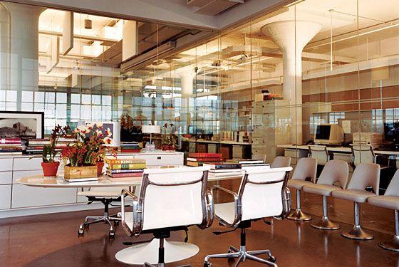 Офисы знаменитых людей Нью-Йорка (8 фото)