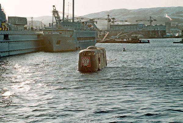 Подводная лодка Курск (18 фото)