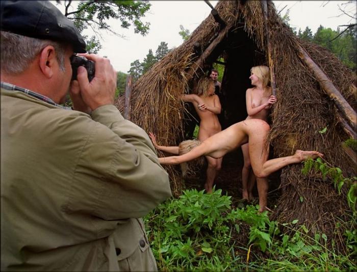 Интересные эро-фотографии с различных съемок (26 фото) НЮ