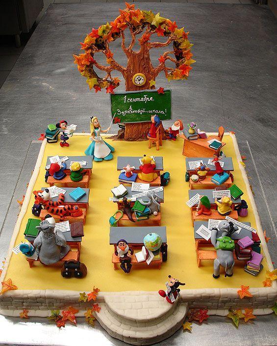 Продолжаю тему тортов серия Детские торты - 60 фото.  Написано: 15.01.2009 Автор: Antonio Просмотров темы: 57 971 раз.