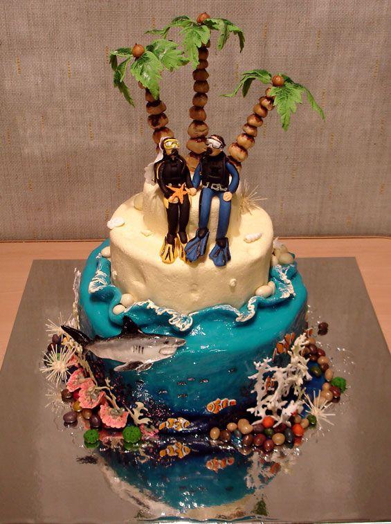 Креативные торты (150 фото)