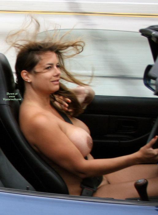Поездка на кабриолете (10 фото) НЮ