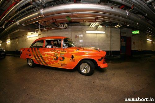 Автопарад Gumball 3000 Rally в Лондоне (132 фото)