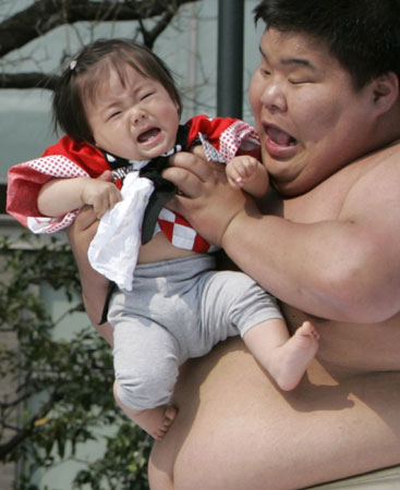 "Японцы отчудили. Конкурс ""Плачущий ребенок"" (6 фото)"