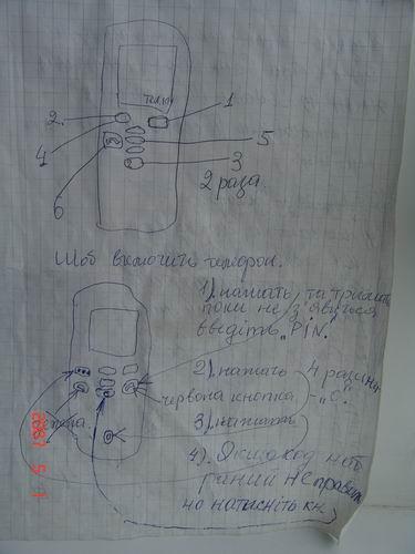 Для тех, кому за 70 или Инструкция по использованию мобилки ))