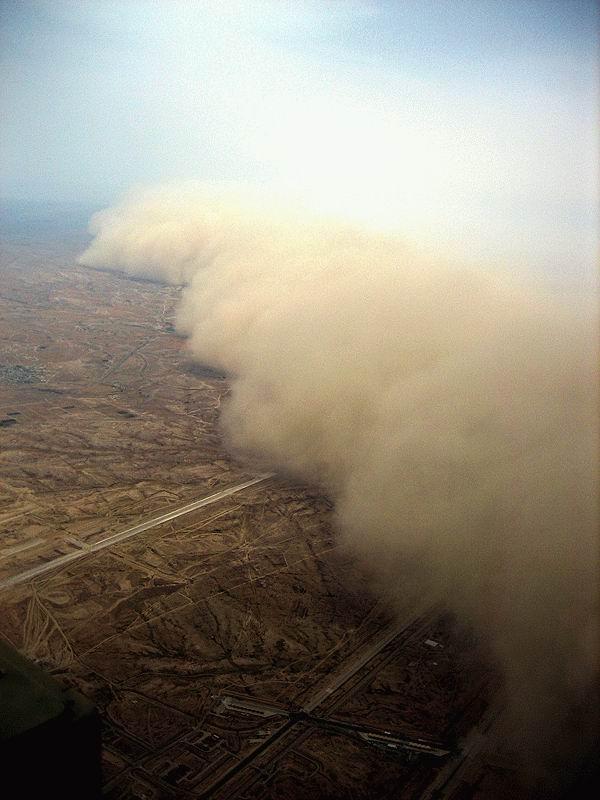 Африканский ветер Хамсин (4 фото)