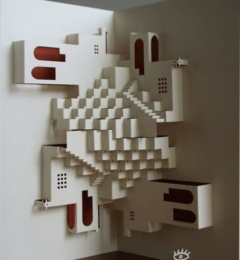 Бумажные домики (26 фото)