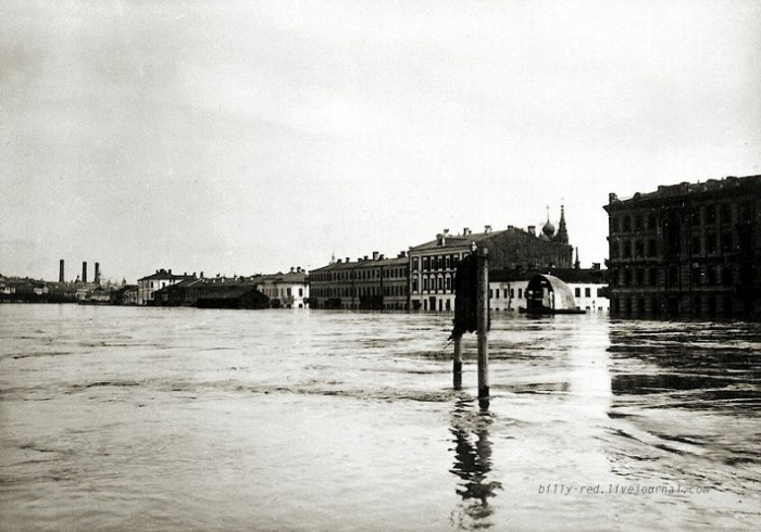 Наводнение в Москве 11 апреля 1908 года (16 фото)