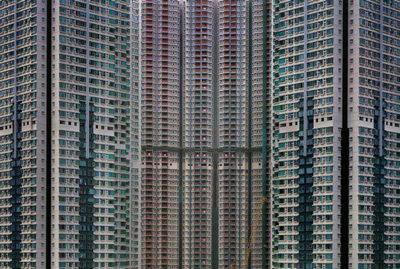 Красивые фотографии небоскребов Гонконга фотографа Michael Wolf (134 фото)