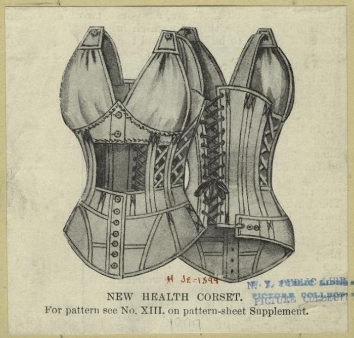 Старинная мода - Корсеты (29 фото)