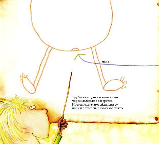 """Детская израильская книжка """"Мама снесла яичко"""" с переводом (13 фото)"""