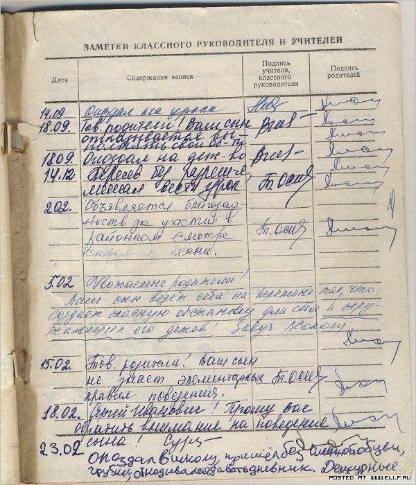 Дневник ученика 5 'А' класса Кривоссыцкого Валеры
