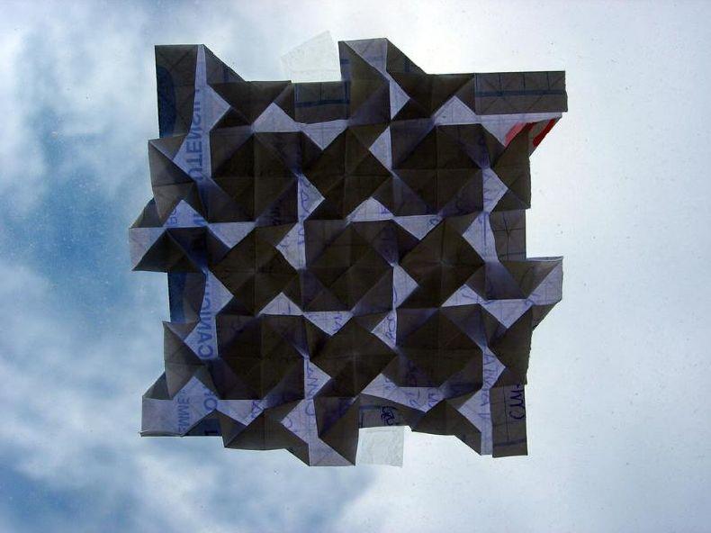 Креативы из бумаги или искусство оригами (16 фото) .