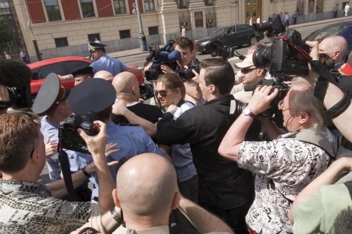 Вчерашний гей-парад в Москве, которого не было (20 фото)