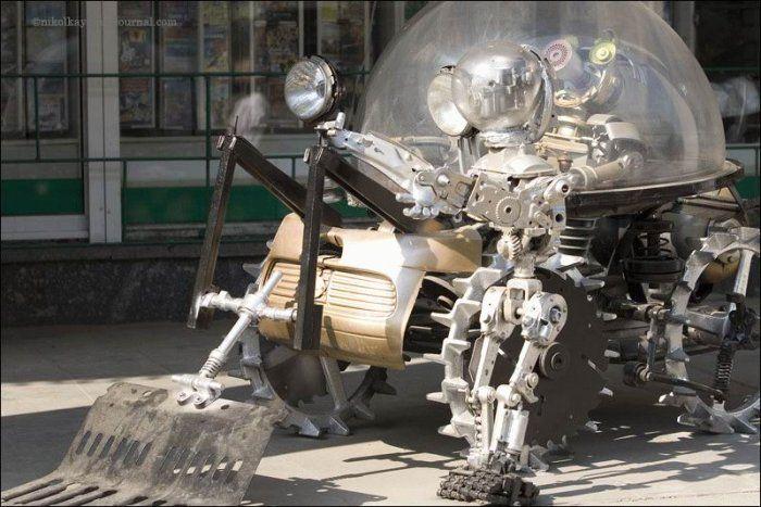 Робот своими руками фото