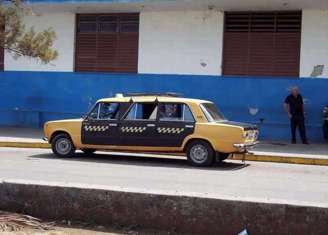 Вот такое такси (10 фото)