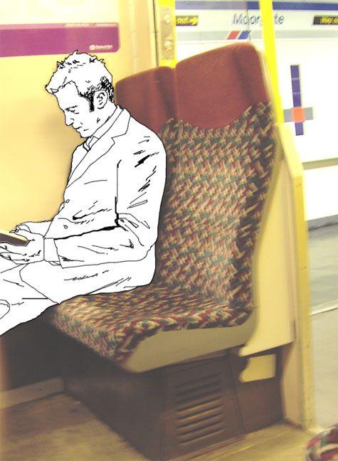 Люди как рисунки (80 фото + инструкция)