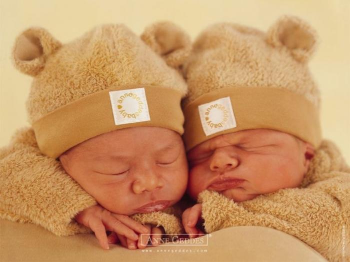 Фотографии детей Anne Geddes (30 фото)