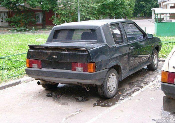 Автотюнинг по-русски (39 фото)