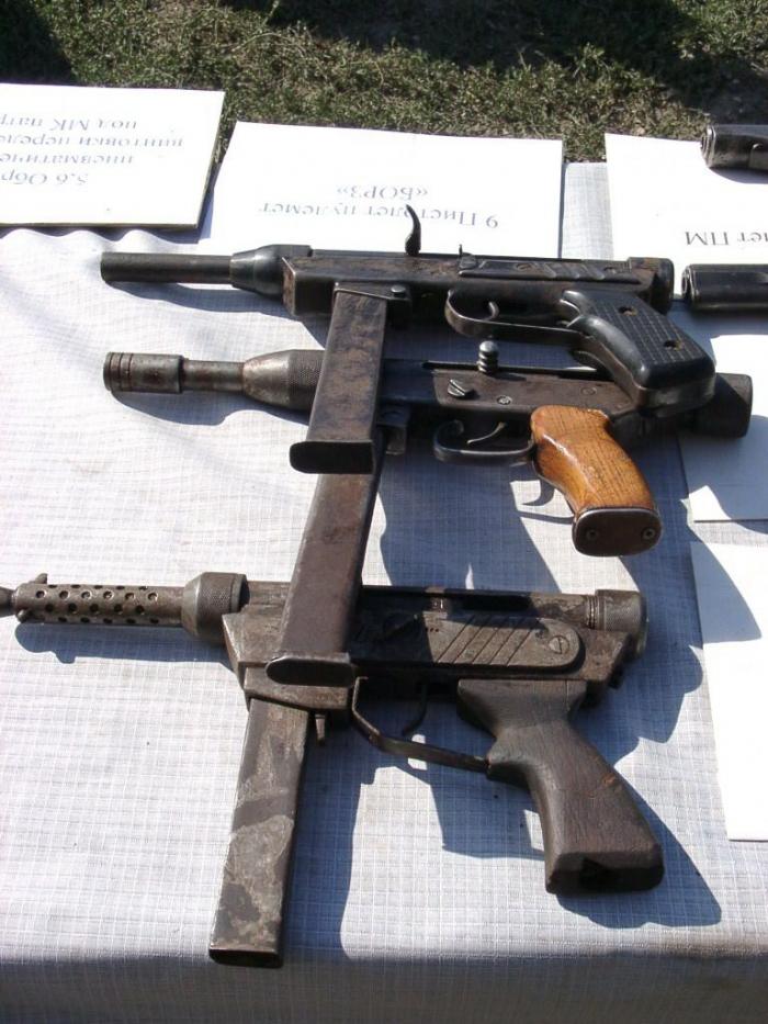 Самодельное оружие в Чечне (15 фото)