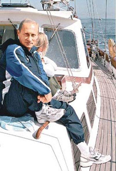 Яхты президента Путина (24 фото)