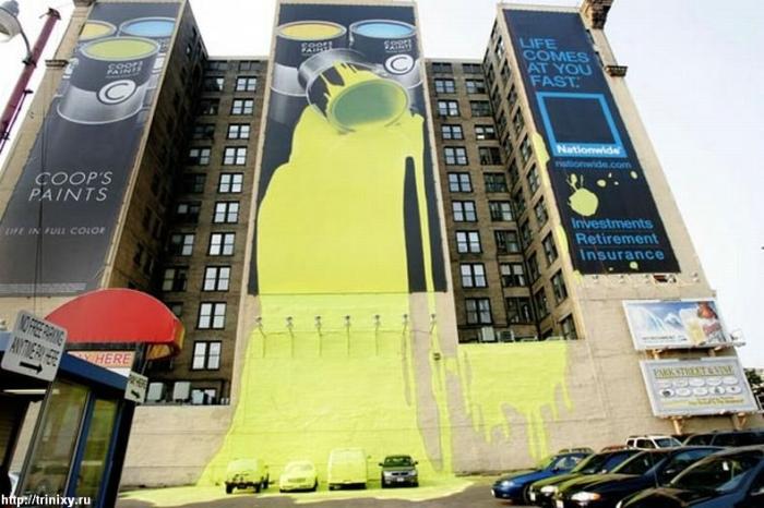 Отличная реклама страховой компании в Огайо (2 фото)