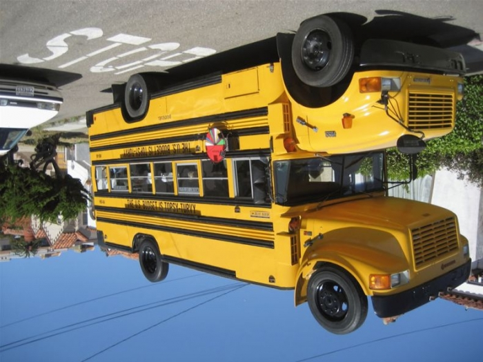 Двухэтажный автобус (11 фото)
