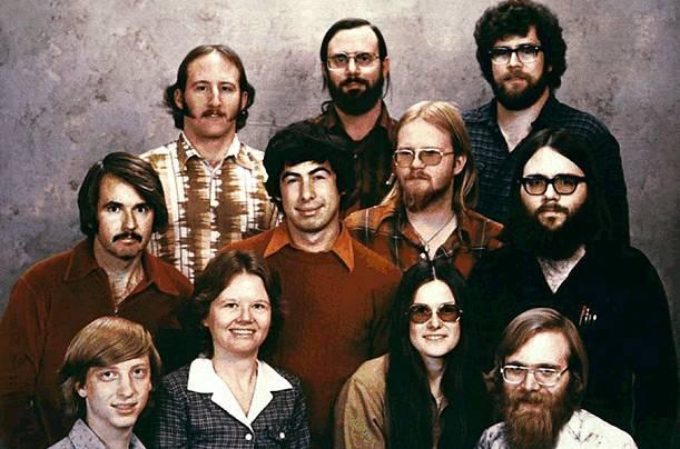 Билл Гейтс - ранние годы (8 фото)