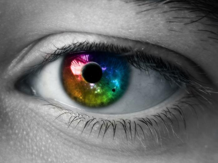 Очень красивые и большие фотографии глаз (20 фото)
